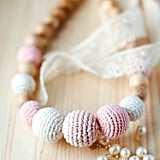 Blossom Bloom Romantic Organic Teething Necklace ($28)