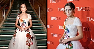 Millie Bobby Brown Looked Like a Springtime Disney Princess in This Blooming Floral Dress