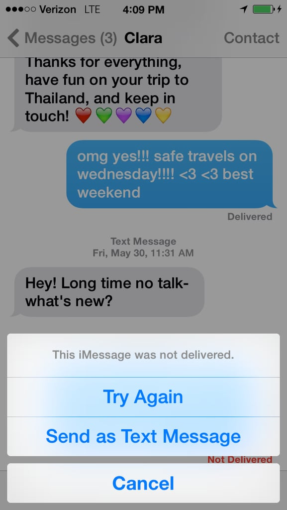 How Do I Force My Phone to Send an SMS Message Instead of an iMessage?
