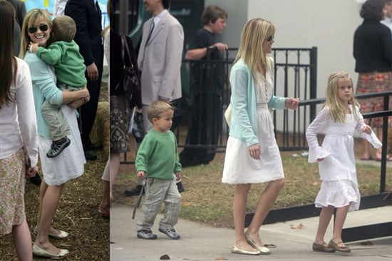 Reese, Deacon and Ava's Easter Sunday Best