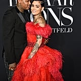 YG and Kehlani at the Harper's Bazaar ICONS Party