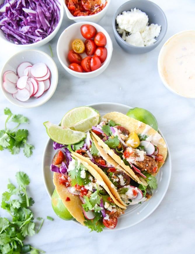 Crispy Zucchini Tacos