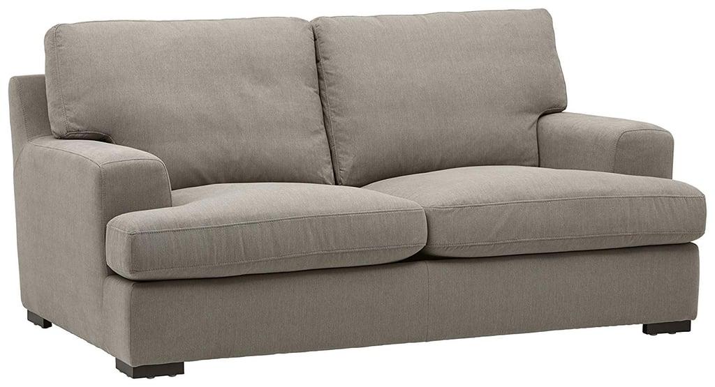 Stone & Beam Lauren Down Filled Oversized Loveseat Sofa Couch