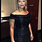 "Queen Latifah officiated a mass wedding during the show, saying, ""I did not enter into this lightly, but I entered into it fully . . . with love."" Source: Twitter user IAMQUEENLATIFAH"