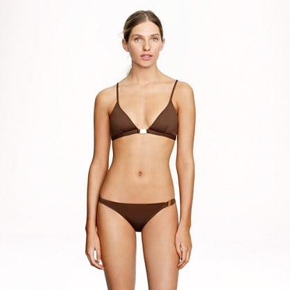 J.Crew Solid Bikini