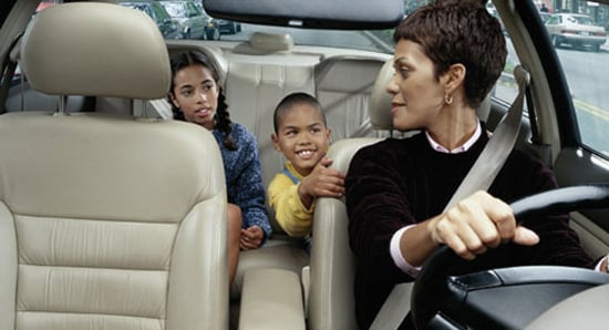 Kids Prefer Mom to Drive Them