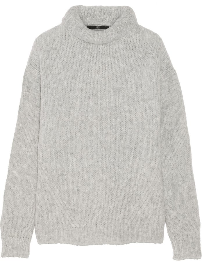 Tibi Bubble Knitted Turtleneck Sweater ($395)