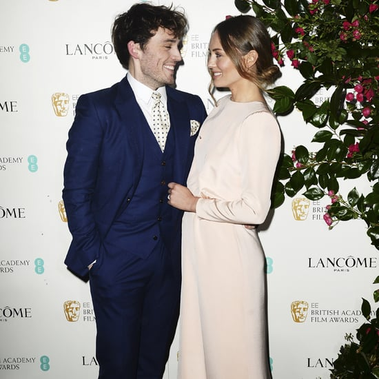 Sam Claflin and Laura Haddock at BAFTA Party 2016
