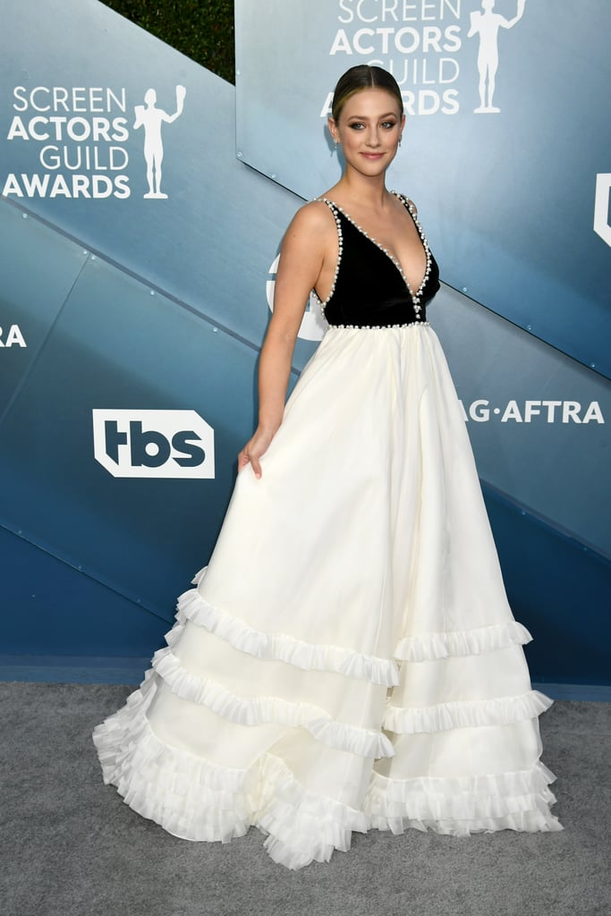 Lili Reinhart Wore a Miu Miu Dress to the 2020 SAG Awards