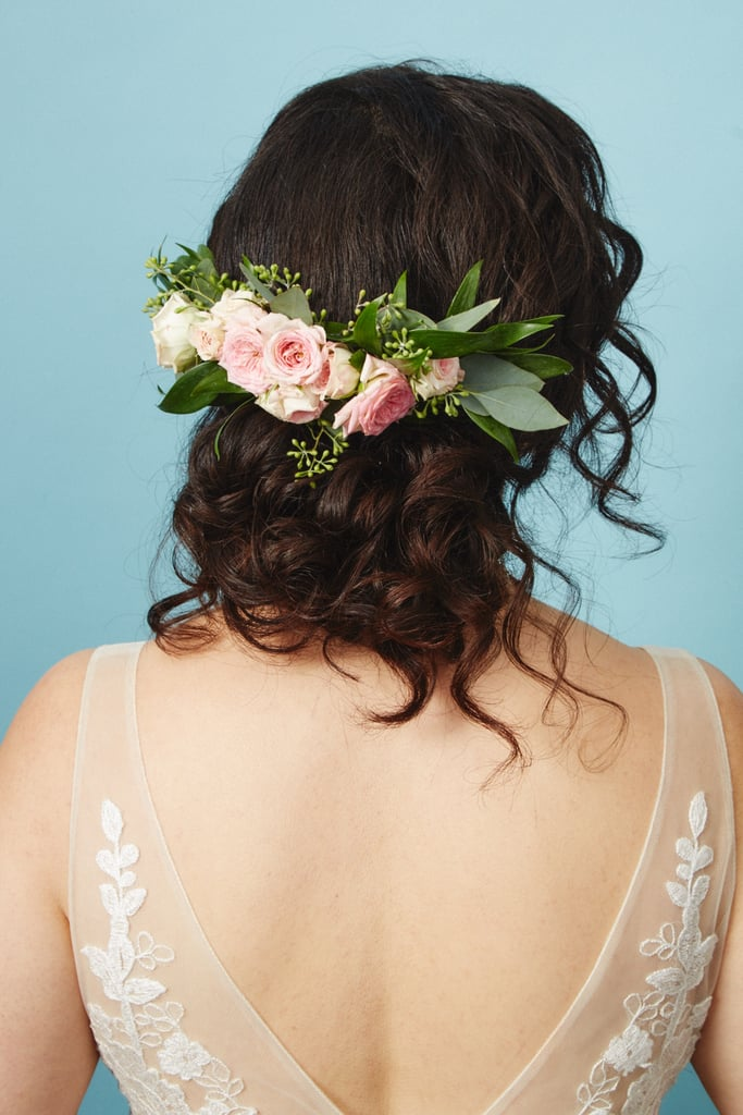 The Flower Piece: Large Fresh Floral Comb
