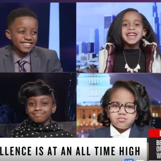 Little Kids Make Black History Month Newscast