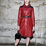 Sophie Turner at Paris Fashion Week in 2018