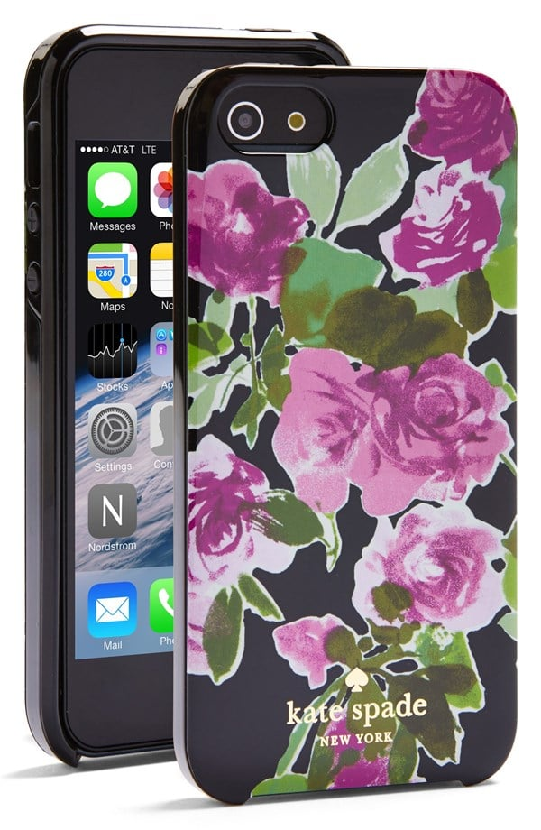 Kate Spade Painterly Roses iPhone Case