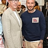 With Chair of LFWM Dylan Jones.