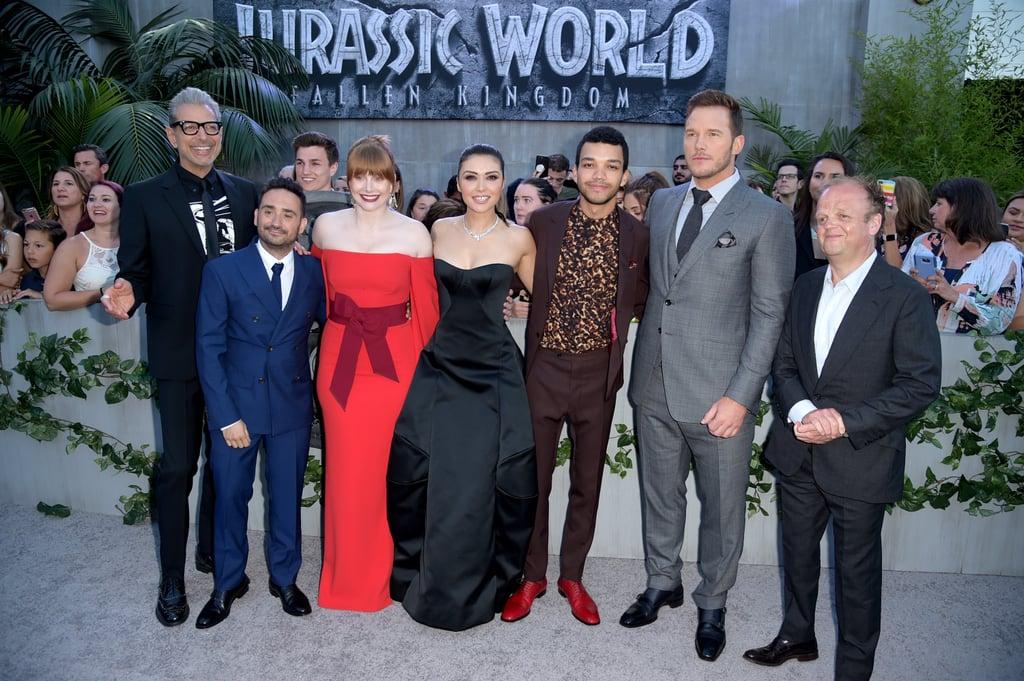 Pictured Jeff Goldblum Director J A Celebrities At
