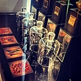 Alison loved the gorgeous set-up (and potions) spotted at a Giorgio Armani event at Myer during the week.