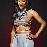 Zayday is totally making this oversize chain work.