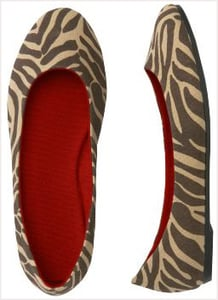 Old Navy Animal Print Shoes