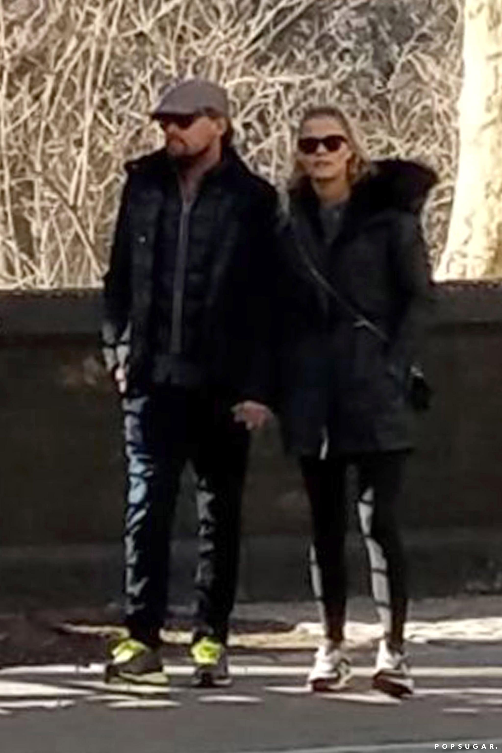 Leonardo DiCaprio and Nina Agdal Holding Hands March 2017 ...