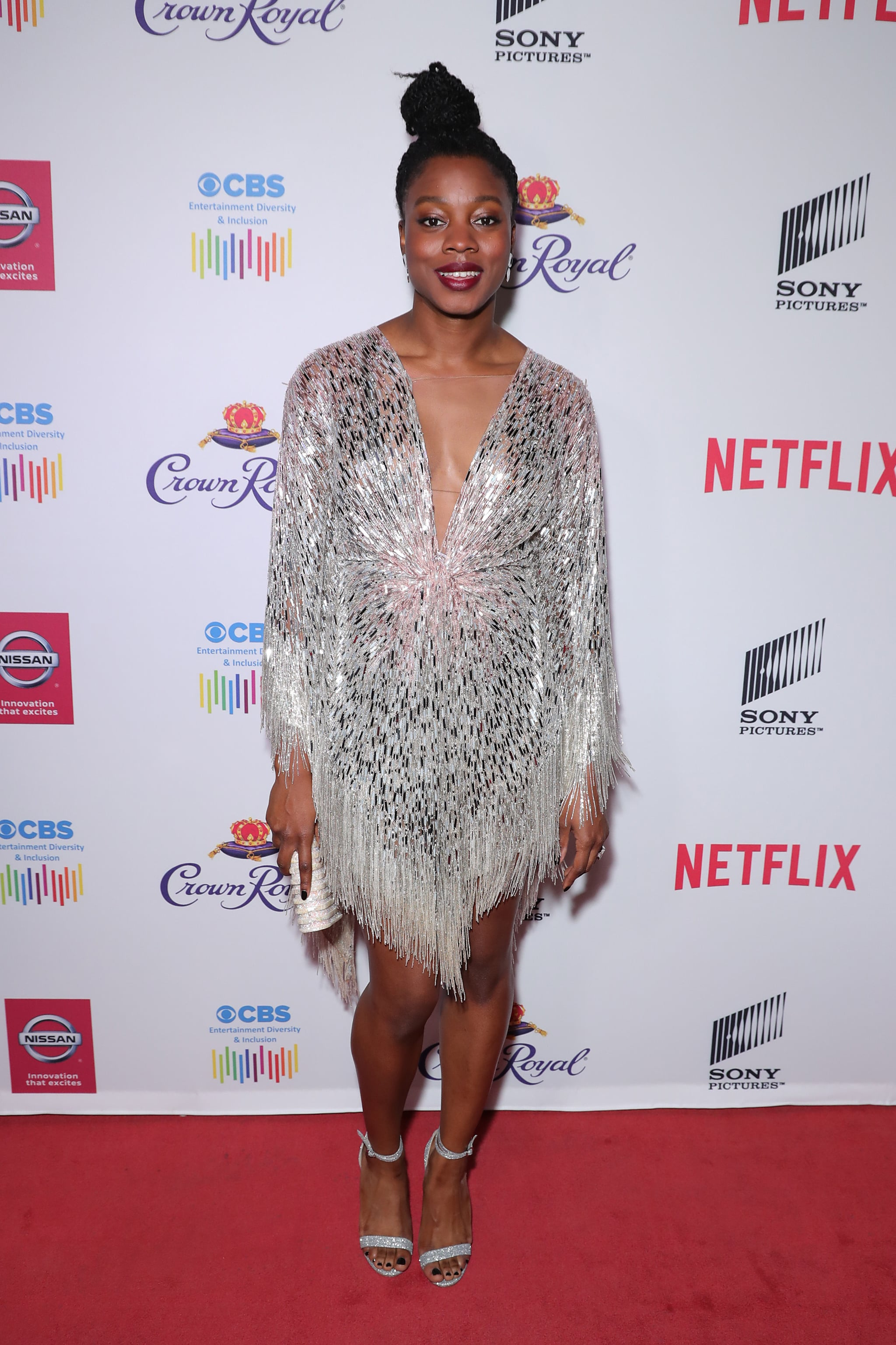 HOLLYWOOD, CALIFORNIA - JANUARY 22: Nia DaCosta attends The African American Film Critics Association's 11th Annual AAFCA Awards at Taglyan Cultural Complex on January 22, 2020 in Hollywood, California. (Photo by Leon Bennett/WireImage)