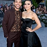 Pictured: Justice Smith and Daniella Pineda