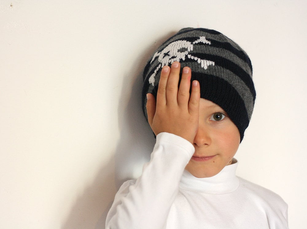 Aye, mate! A pirate hat ($42) is a fun way to stay warm in the cold.