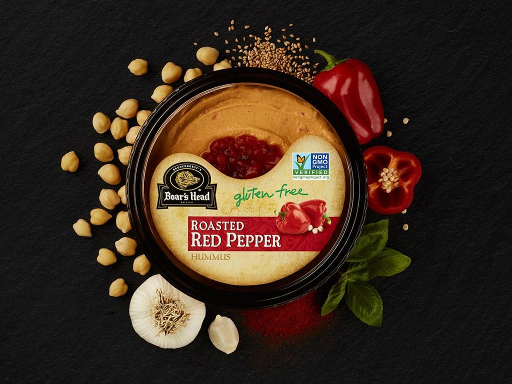 Boar's Head Roasted Red Pepper Hummus