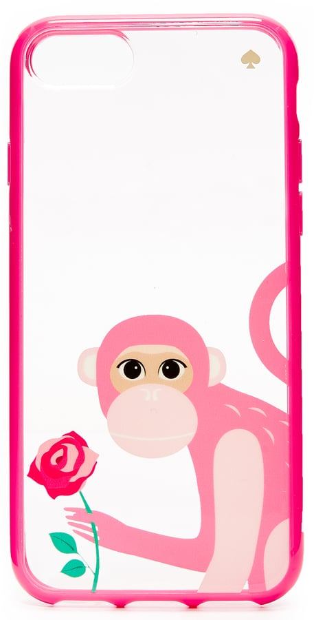 Kate Spade Monkey With Rose iPhone 7 Case ($40)