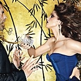 Ashley Greene gets sassy with a male model inside the pages of Allure.