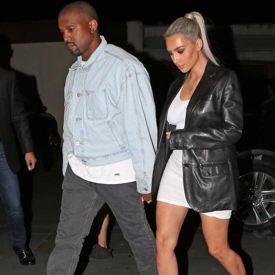 Kim Kardashian Snakeskin Heels
