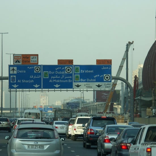 Speed Limit on Dubai Roads