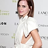 Emma Watson posed at the Crosby Street Hotel.