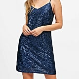 Sequin Slip Dress