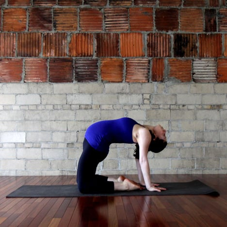 what to avoid in yoga when pregnant  popsugar fitness