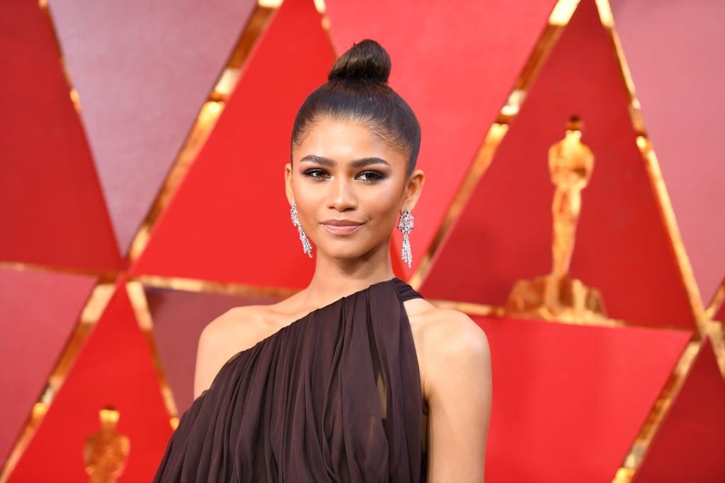 Zendaya Hair and Makeup at the 2018 Oscars