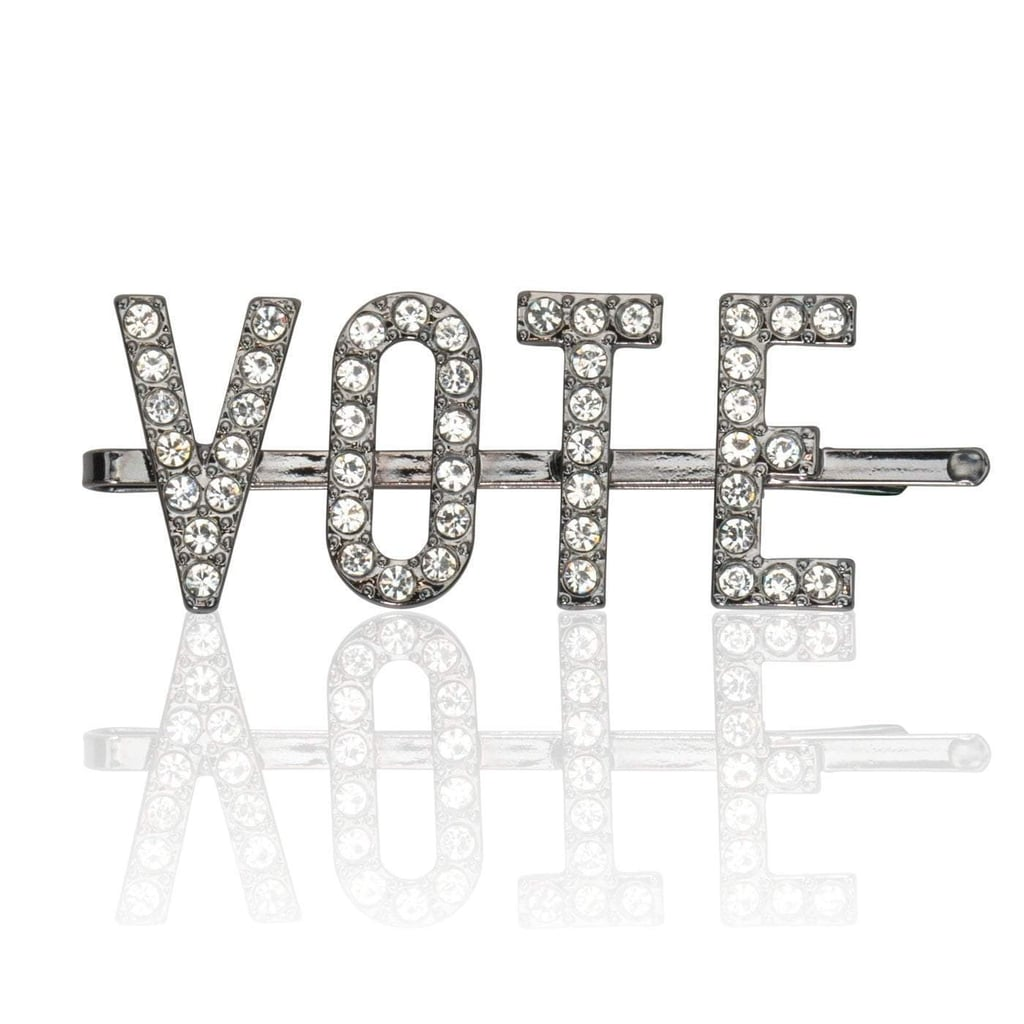 Kitsch x When We All Vote Rhinestone Bobby Pin