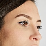 """Once you have your outline, use the broad side of the angled tip to fill in the body of the brow,"" he said. ""The more pressure you apply, the deeper and more dramatic the brow will become."""