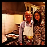 Camilla Belle got busy in the kitchen. Source: Instagram user camillabelle86