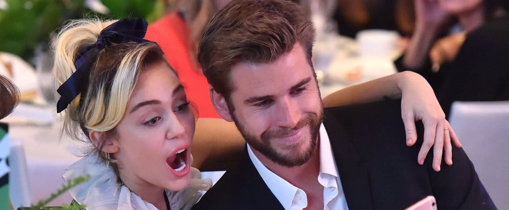 Miley Cyrus and Liam Hemsworth Attend Their First Official Event as a Rekindled Couple