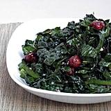 Kale and Chard Salad With Pomegranates and Hazelnuts