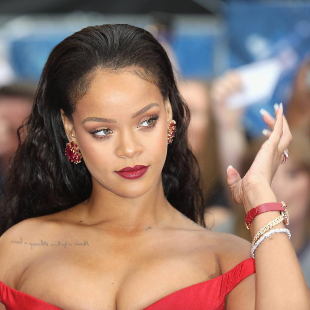 Rihanna Without Makeup 2018