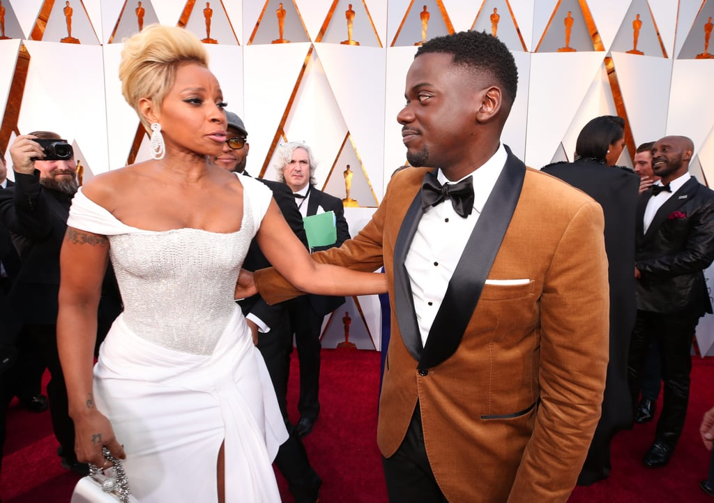 Pictured: Mary J. Blige and Daniel Kaluuya