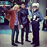 Hansel, Mugatu, and Zoolander
