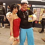 Popeye and Betty Boop