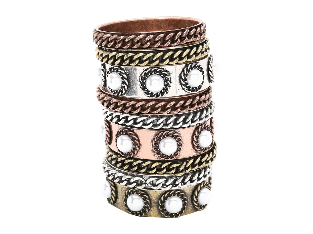 Gypsy Soule Mixed Metal Bangle Set