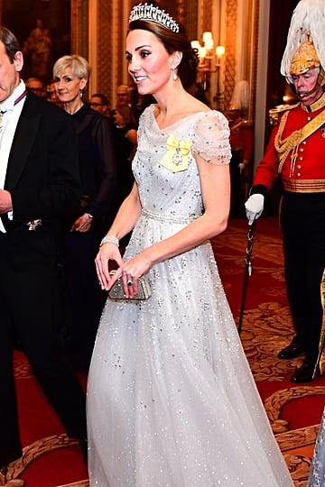 Kate Middleton's Outfit at Queen's Reception 2018