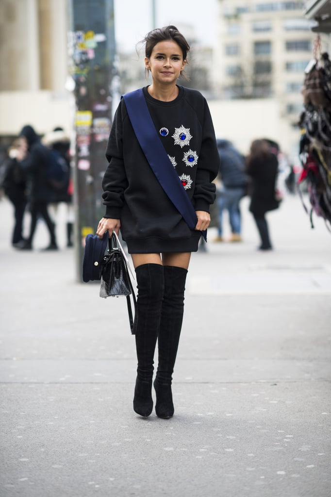 Street Style at Couture Fashion Week 2014