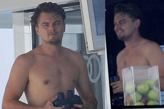 Photos Of A Shirtless Leonardo DiCaprio On A Yacht In Ibiza