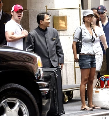 Nick and Vanessa Checking Out