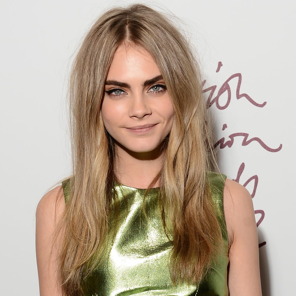 Cara Delevingne's sharp winged eyeliner